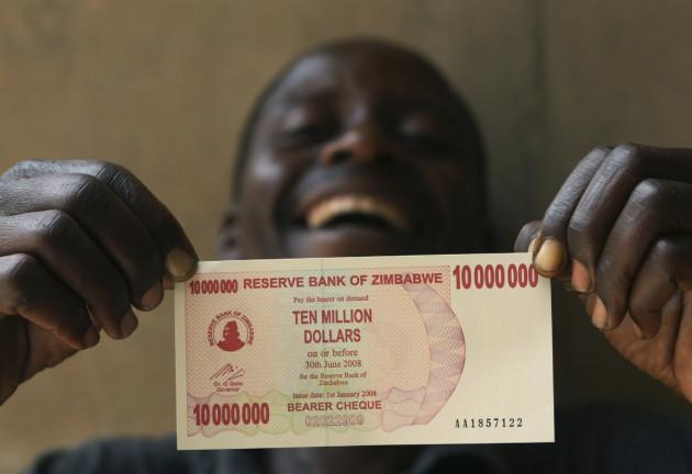 دولار زيمبابوي