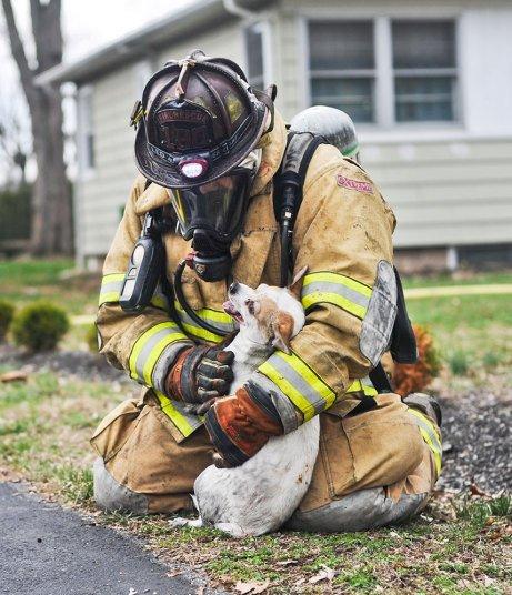 رجل إطفاء
