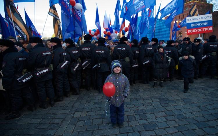 طفل روسي