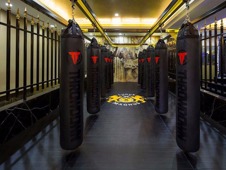 غرفة ملاكمة