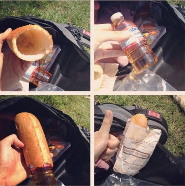 محفظة خبز