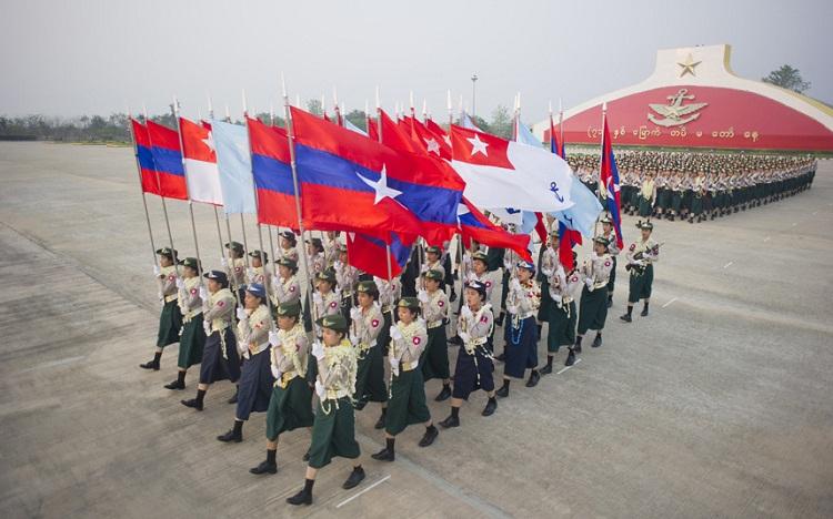 مسيرة عسكرية