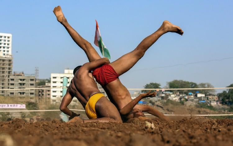 مصارعة هندية تقليدية