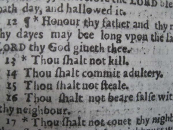 وصايا الإنجيل