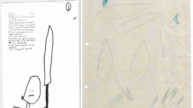 طفل مسلم رسم خيارة