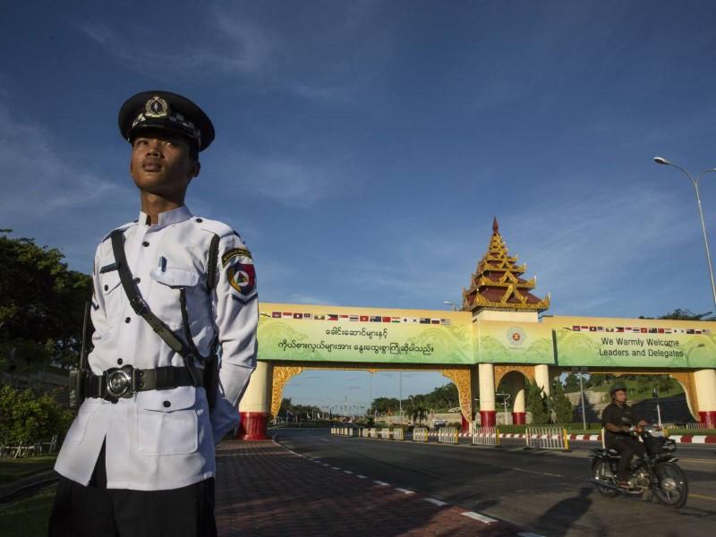 عاصمة بورما الجديدة