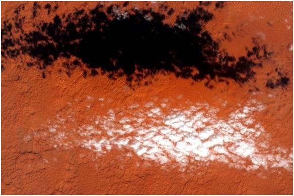 صور من الفضاء للسعودية