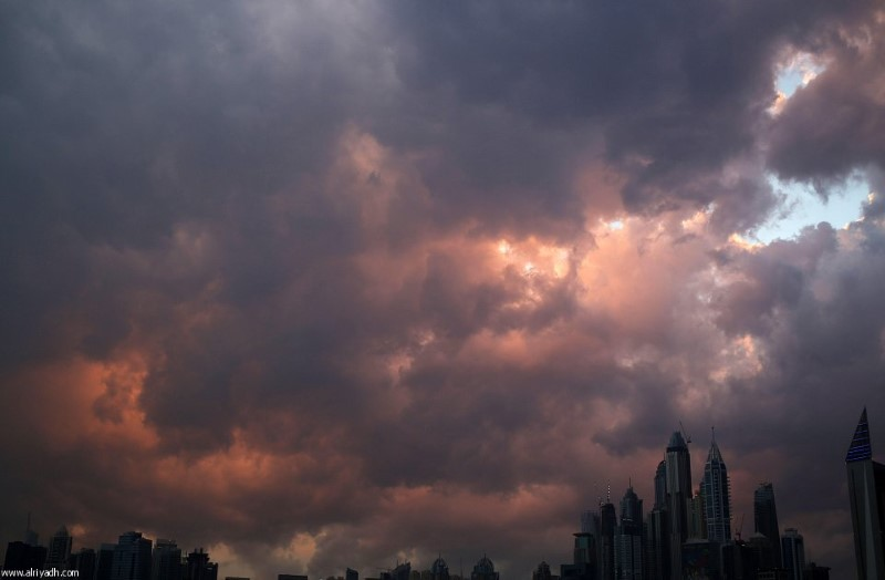 أمطار دبي