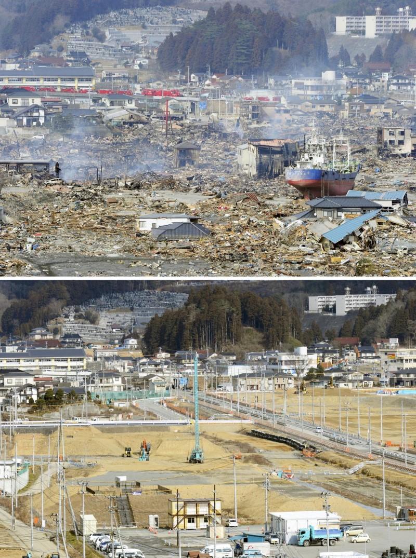 زلزال اليابان المدمر