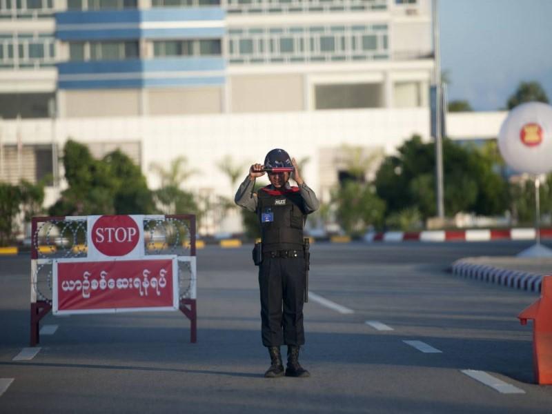 عاصمة بورما لا يسكنها الا عمال النظافة