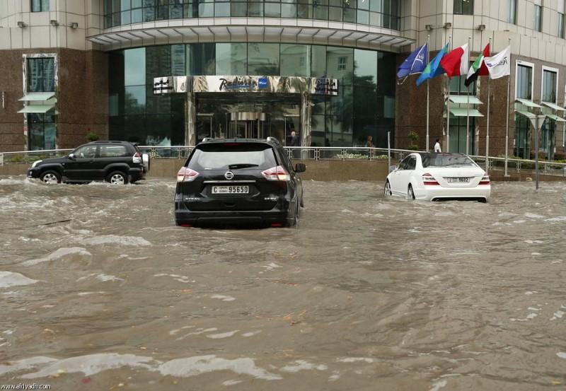 أمطار أبوظبي