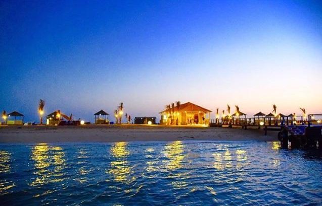 جزيرة سياحية في جازان