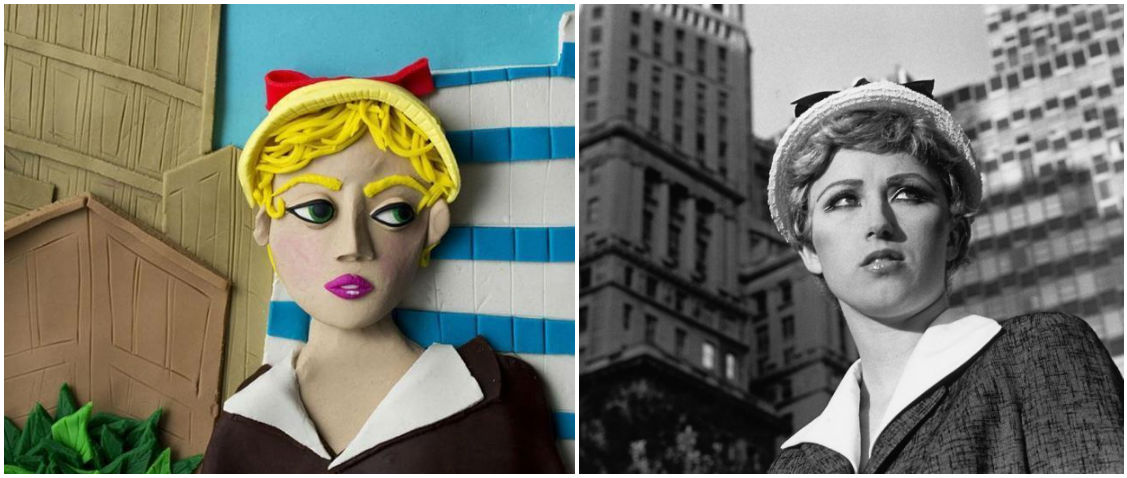 Famous Photos With Play Doh