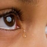 Human tears are salty