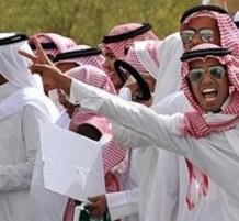 happy saudi people