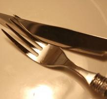الشوكة والسكين