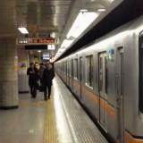 محطة قطار باليابان