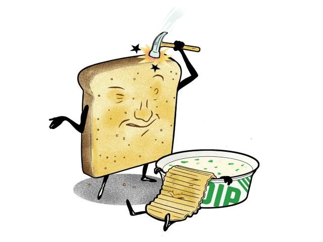 الخبز القديم