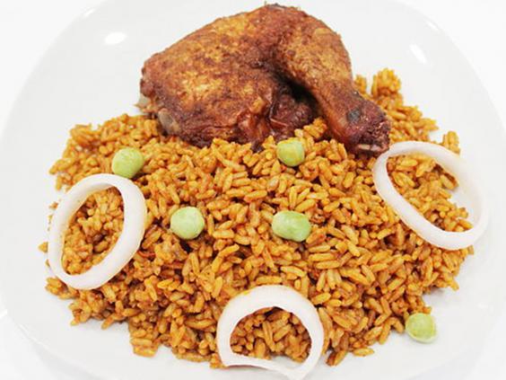 أطباق غرب أفريقيا