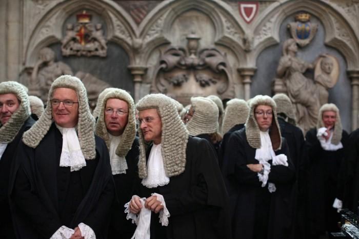 المحامون الإنجليز