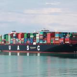 أكبر سفينة في أسطول الملاحة العربية المتحدة