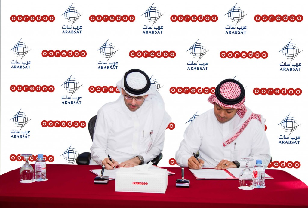 إتفاقية بين Ooredoo و عرب سات
