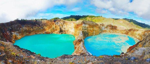 بحيرات فوهة البركان