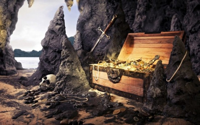 دفن الكنوز