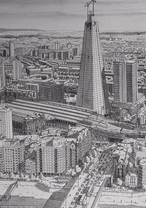 رسم المدن الكبيرة