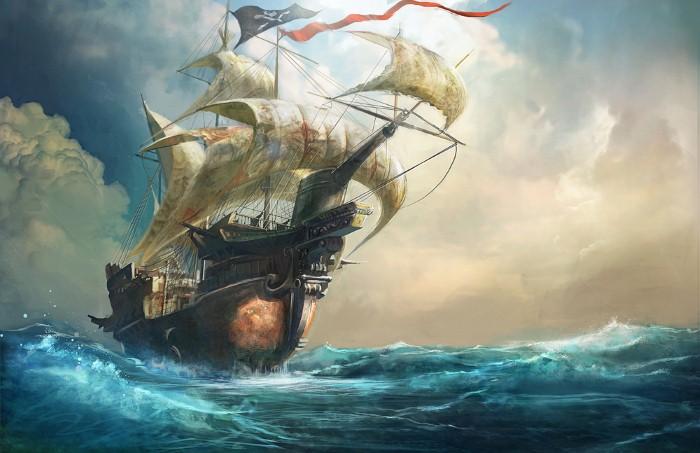 سفينة قراصنة