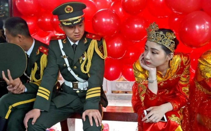 شرطي صيني
