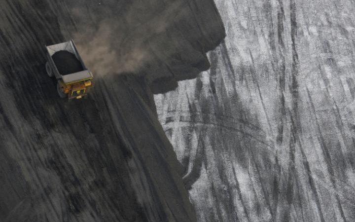 عربة نقل فحم