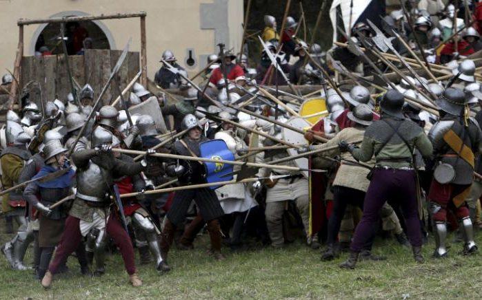 محاكاة معركة قديمة