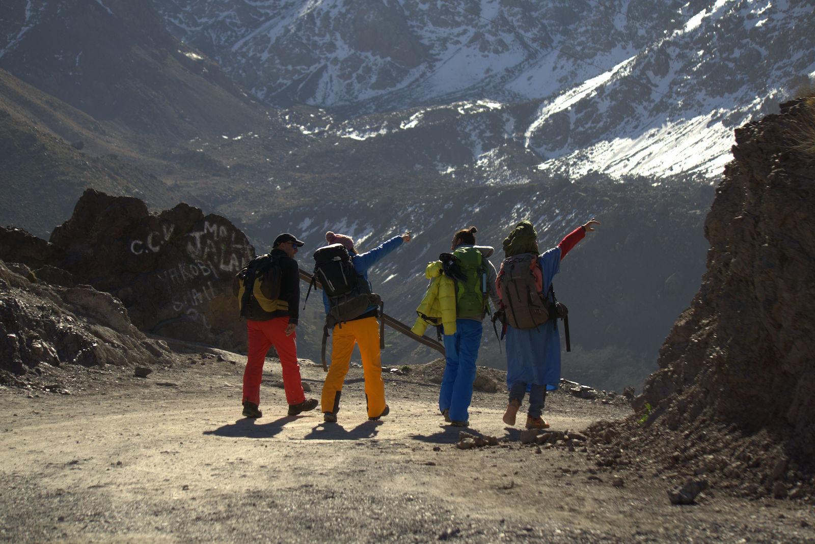 نبض المغامرة في تسلق جبل توبقال