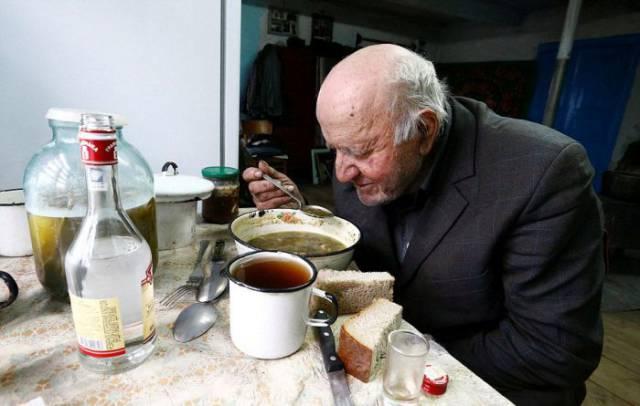 عجوز كارثة تشيرنوبل