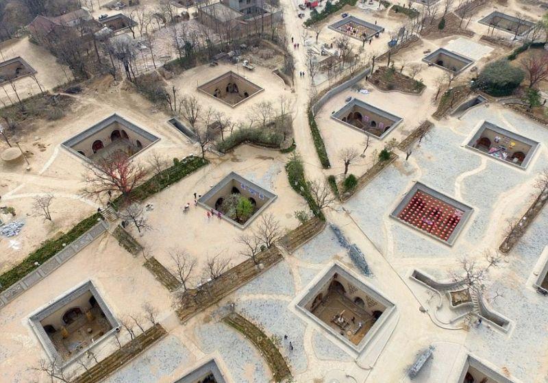 مدينة صينية تحت الأرض