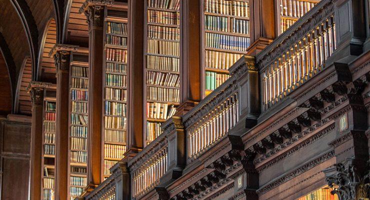 المكتبة الأكثر عراقة في أيرلندا. بين أرففها 200 ألف كتاب