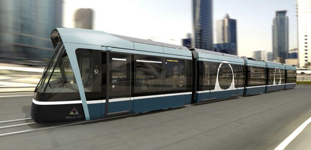 الستوم و قطر ريل يكشفان الستار عن التصميم النهائي لترام لوسايل سيتاديس