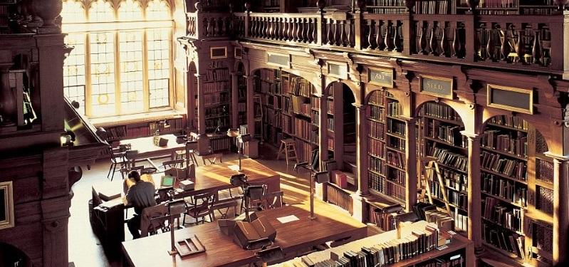 incredible libraries in Britain