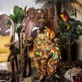 ملك إفريقي