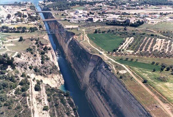 قناة كورينث المائية