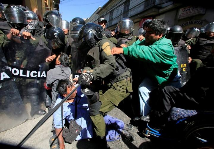 مظاهرات في بوليفيا