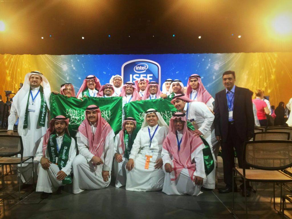 السعودية الأولي في معرض إنتل الدولي للعلوم والهندسة