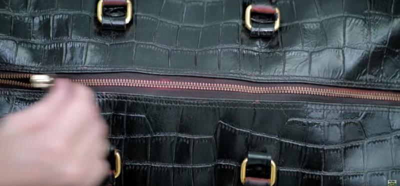 الحقائب و الأحذية الجلدية