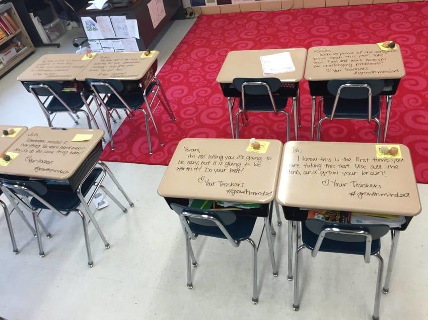 تخفيف قلق الطلاب من الاختبارات