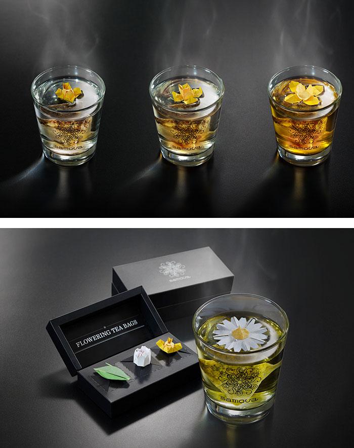 أجمل تصاميم أكياس الشاي