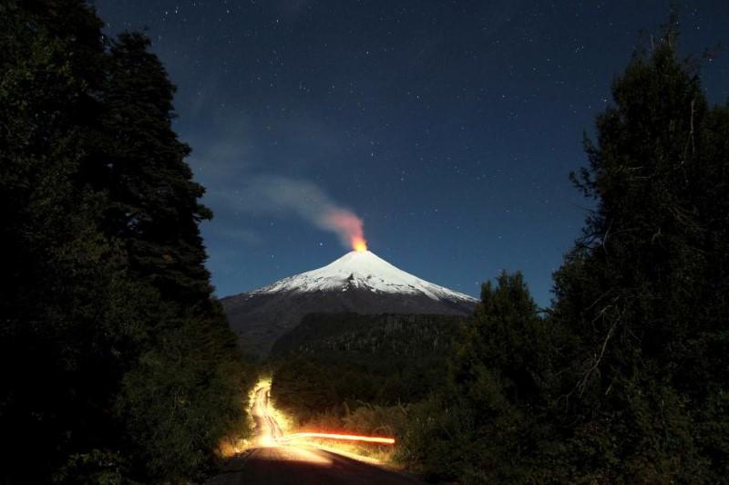 فيلاريكا بركان تشيلي