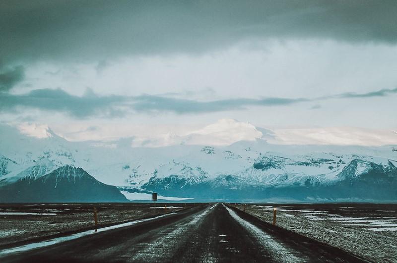 جمال طرق آيسلندا