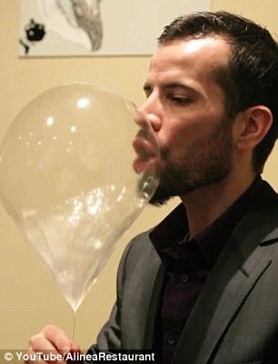 حلوى البالون