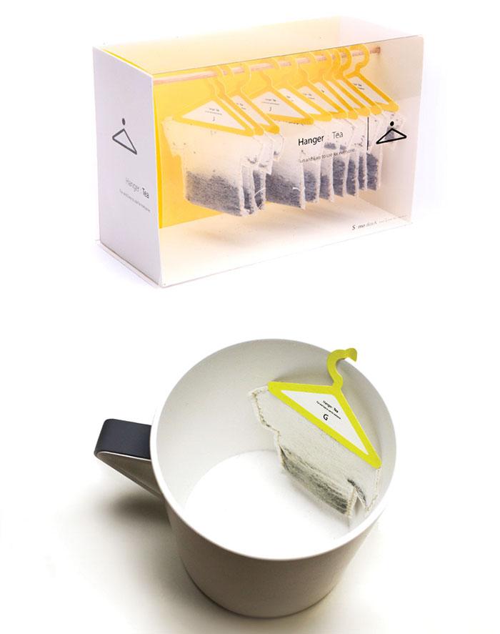 أكياس شاي إبداعية